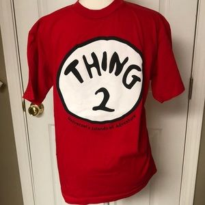 "Universal Studios ""Thing 2"" red T-shirt"